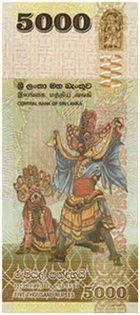 Sri Lanka emite su nueva serie de 6 billetes multicolores