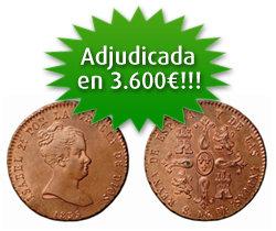 Excelentes resultados en la subasta de Pliego Numismática y Coleccionismo