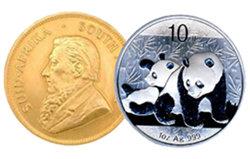 Los precios del oro y de la plata en máximos