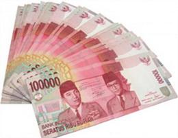 100.000 rupias de Indonesia, nueva emisión 2014