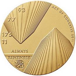 """Medallas conmemorativas en honor a las víctimas del """"11-S"""""""