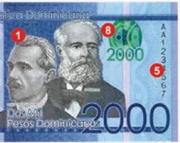 Nueva familia de pesos dominicanos 2014