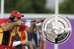 """10 Euros plata para el """"Campeonato del Mundo de Tiro 2014"""""""