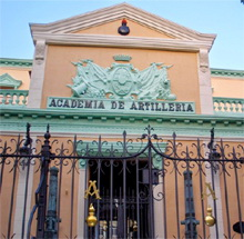 250 Aniversario del Real Colegio de Artillería de Segovia en 10 euros plata