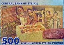 En circulación el nuevo billete de 500 libras sirias