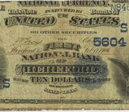 Descubierta variedad del 10 dólares USA 1882 que se subastará en Chicago en la ANA World's Fair of Money