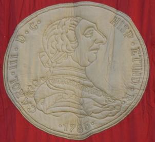 """Tapices """"numismáticos"""" para homenajear al Rey Felipe VI"""