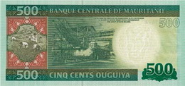 Nuevo billete de 500 ouguiya
