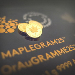 Royal Canadian Mint presenta el Gold Maple Leaf en un gramo de oro puro