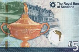 La Ryder Cup regresa a Escocia en 5 libras del RBS