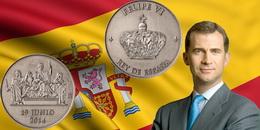 Medalla de la Proclamación del Rey de España Felipe VI