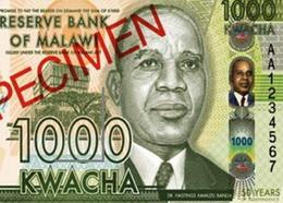 Mil kwacha conmemorativos del 50 Aniversario de la Independencia
