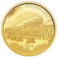 Ferrocarril canadiense Grand Turk Pacific hace 100 años