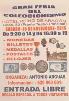 Gran Feria de Coleccionismo en Zaragoza