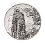 """El """"Big Ben"""" marcó el inicio de 2015 en 100 libras de plata"""