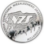 Monedas conmemorativas 30 aniversario lucha estudiantil contra el comunismo en Polonia