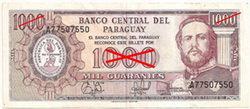"""Paraguay suprimirá tres ceros en sus nuevos billetes """"nuevos guaraníes"""""""