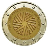 2 Euros para la presidencia de Lituania del Consejo de Europa