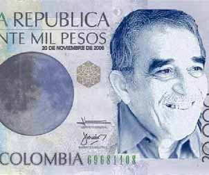 Colombia emitirá un billete como homenaje a Gabriel García Márquez
