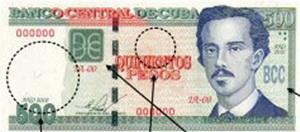 Nuevos billetes de 200, 500 y 1.000 pesos cubanos a partir de febrero