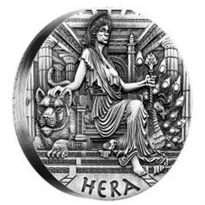 """Tuvalu y sus 2 dólares: """"Diosas del Olimpo, Hera reina de las diosas"""""""