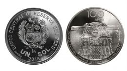 El BCRP emite una moneda para conmemorar los 100 años de la Escuela de Bellas Artes