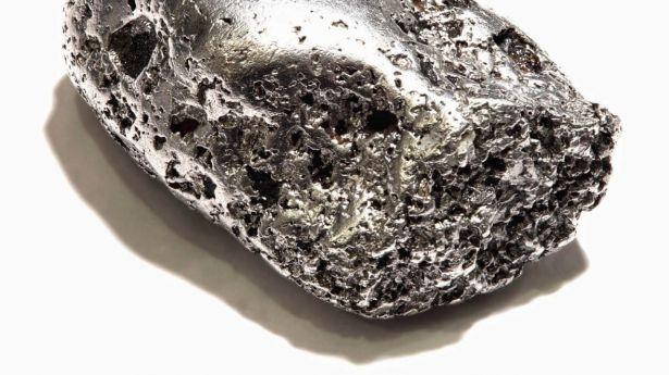 El platino alcanza el nivel más bajo desde 2008