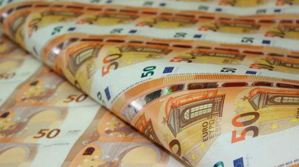 El euro: Producción y reservas de billetes