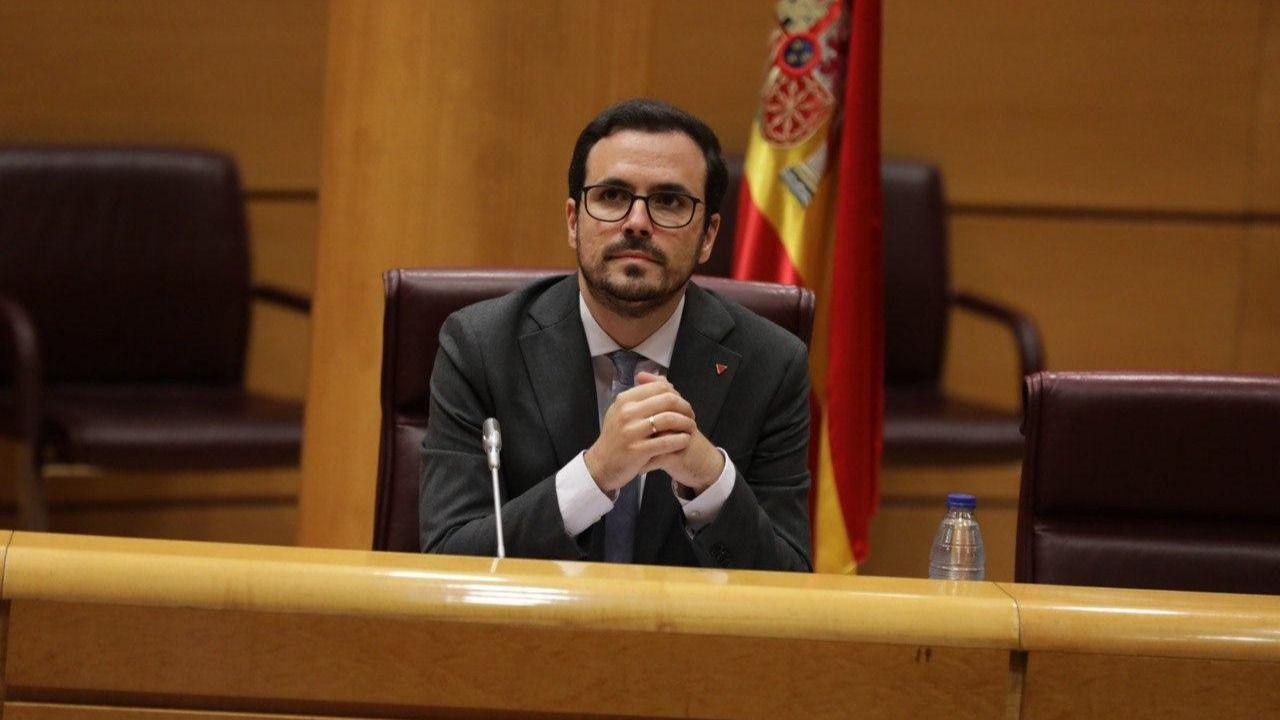 Alberto Garzón: 'Las monedas virtuales son las tragaperras modernas del siglo XXI'