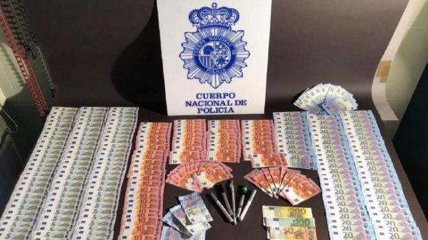 Detenciones en España en dos operaciones contra la distribución de dinero falso