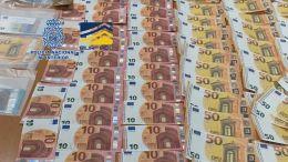 Desmantelan una imprenta clandestina de falsificación de billetes de 20 y 50 euros