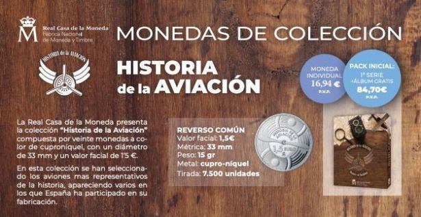Nuevas emisiones: 'Historia de la Aviación'