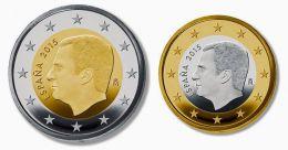 El euro: 2€ (España)