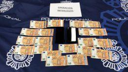 La Policía detiene a cuatro personas en dos operaciones contra la introducción y distribución de moneda falsa