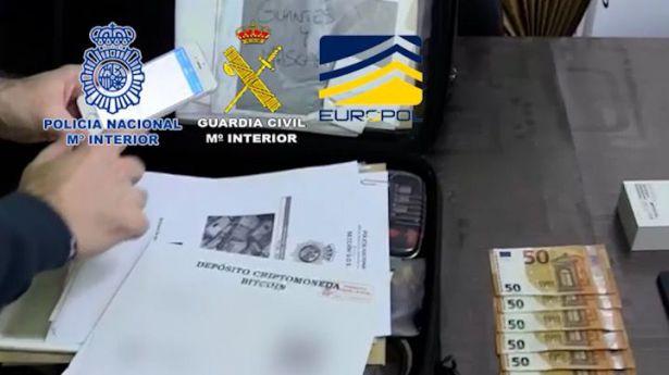 37 detenidos por organización criminal dedicada a la introducción de billetes falsos de 500 euros