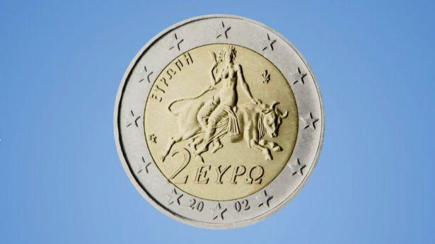 El euro: 2€ (Grecia)