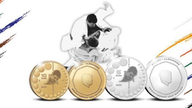 Un Campeón del Mundo de Judo con moneda propia