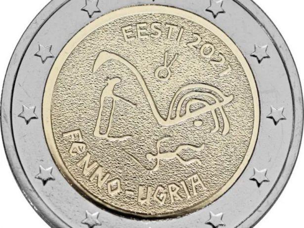 Primera moneda de 2 euros conmemorativa de Estonia 2021