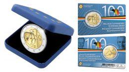 Ya a la venta la moneda de dos euros conmemorativa de Bélgica 2021