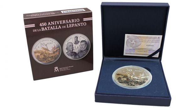 A la venta la colección '450 Aniversario de la Batalla de Lepanto'