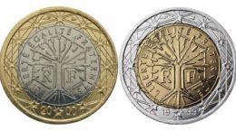 Francia anuncia por sorpresa el cambio de diseño en sus monedas de 1 y 2 euros
