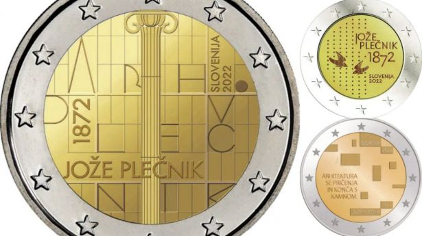 Así será la moneda de 2 euros conmemorativa de Eslovenia 2022