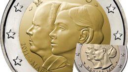 Moneda de 2 euros conmemorativa de Mónaco para este 2021