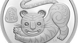 Canadá celebrará en 2022 el Año del Tigre con una nueva moneda