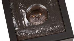 Cazadores de la noche: Una curiosa moneda retrata al Búho Real