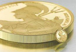 Siete posibilidades para el bullion Britannia 2015 en oro