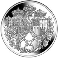 Fiji lanza una moneda por los 70 años de la boda de Isabel II