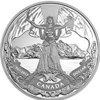 Nueva moneda que conmemora la Confederación canadiense