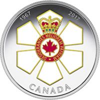 50 años de la medalla de la Orden de Canadá.