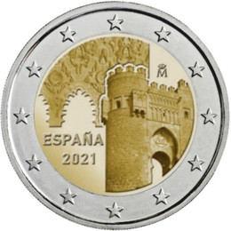 Moneda de 2 euros conmemorativa de España 2021